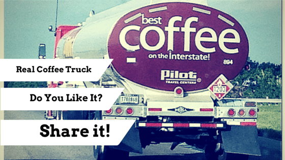 Real coffee truck