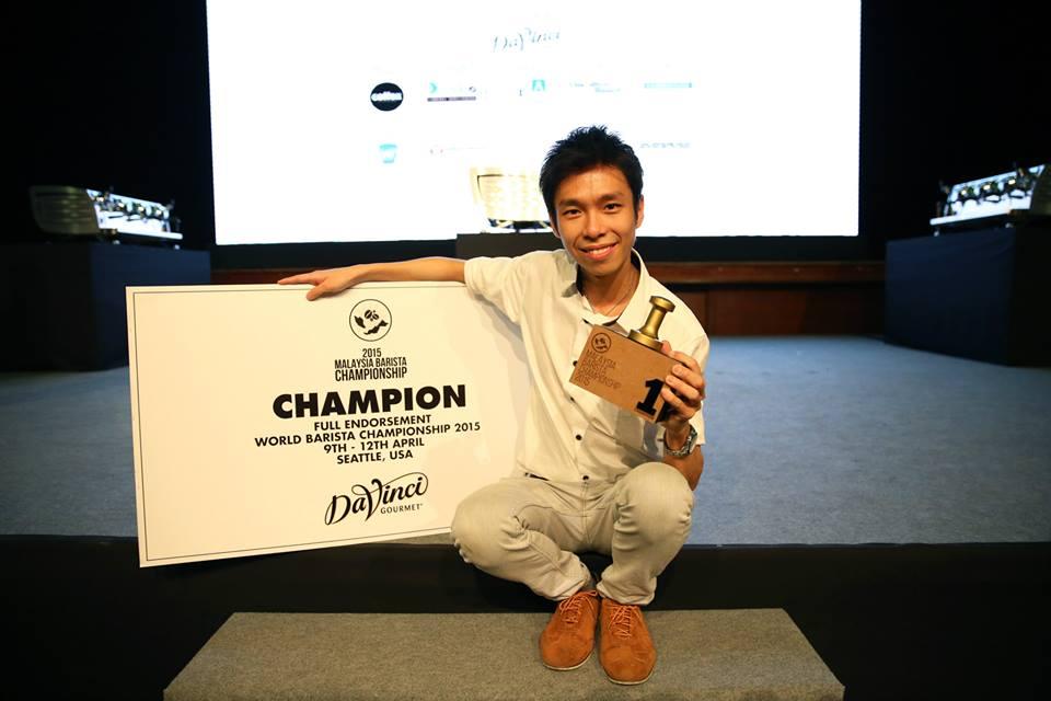 Malaysia Barista Championship 2015 Winner- Jason Loo
