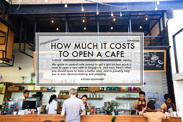 How Much It Costs To Own A New Cafe