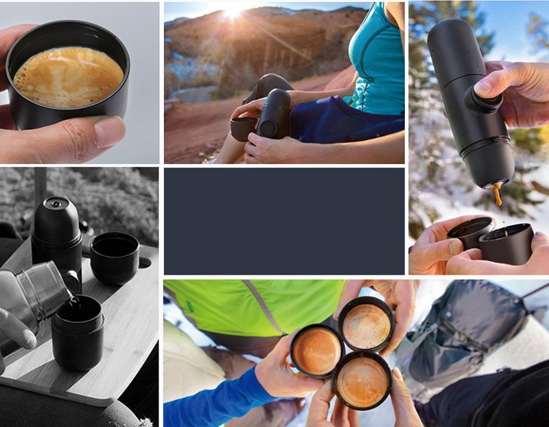 Portable Coffee Maker For Homes and Travels