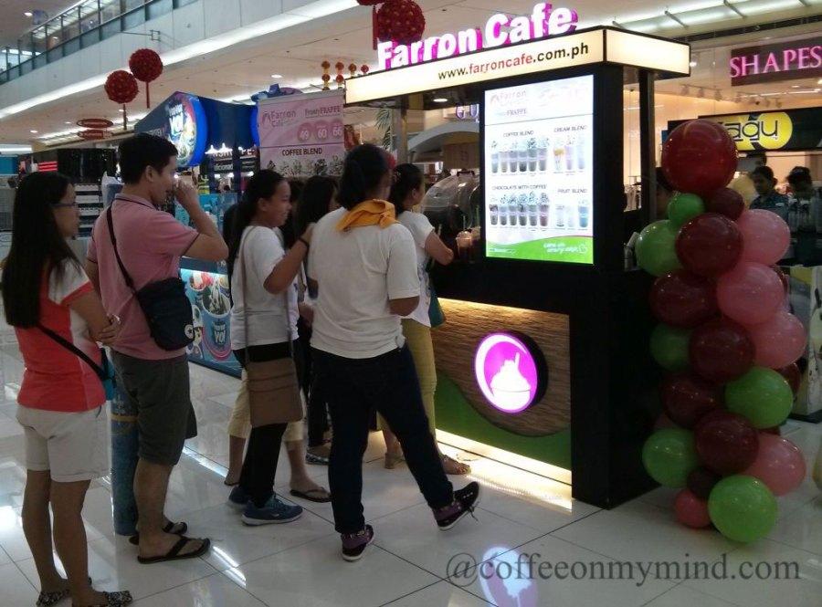 Philippine Coffee Kiosks Series: Farron Cafe Review - Coffee