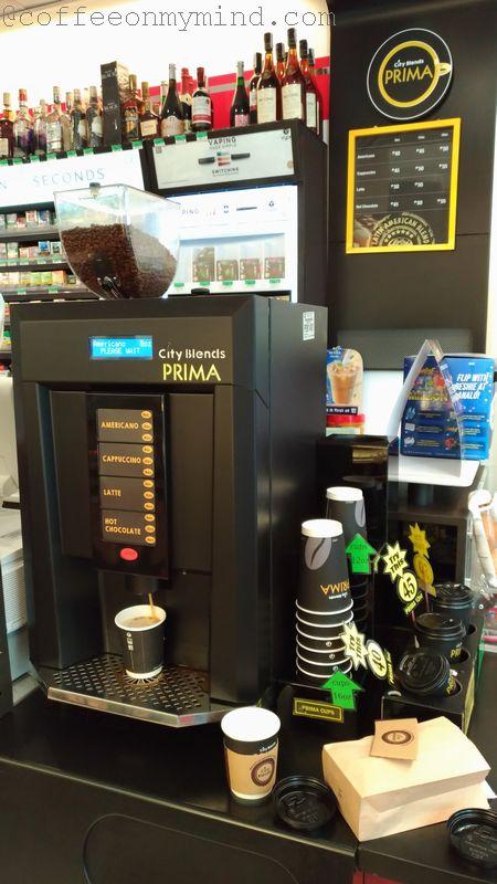 city blends prima self service machine