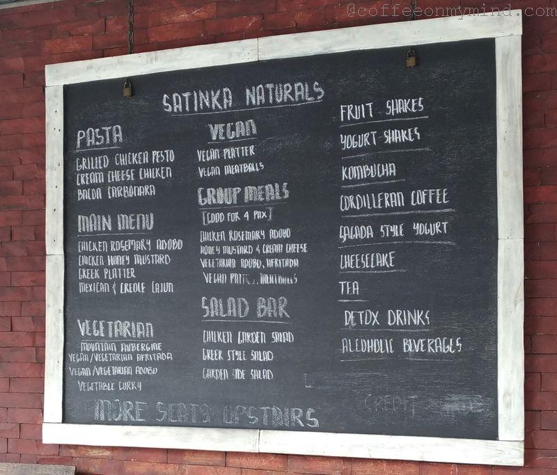 satinka naturals outdoor menu