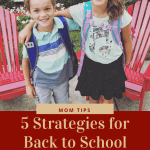 5 Tips for Transitioning Back to School