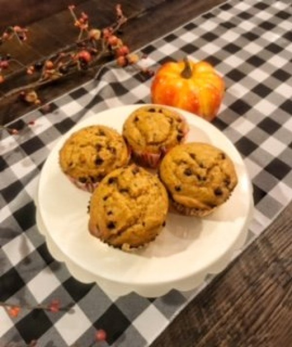 Whole Wheat Pumpkin Spice Muffin Recipe