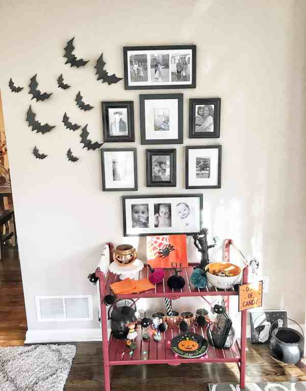 Halloween Printable Bat Wall Decor