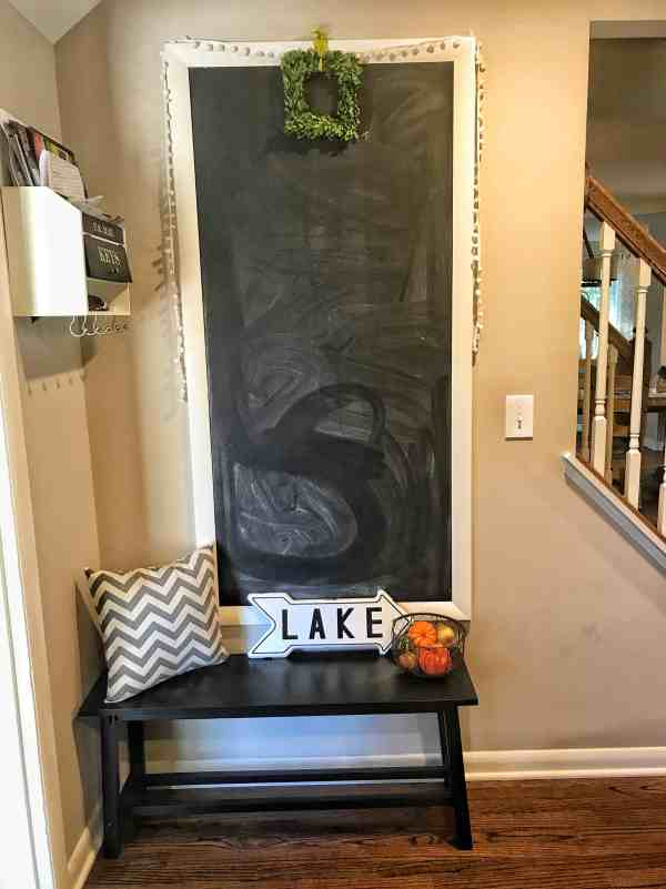 Chalkboard Wall in Modern Farmhouse