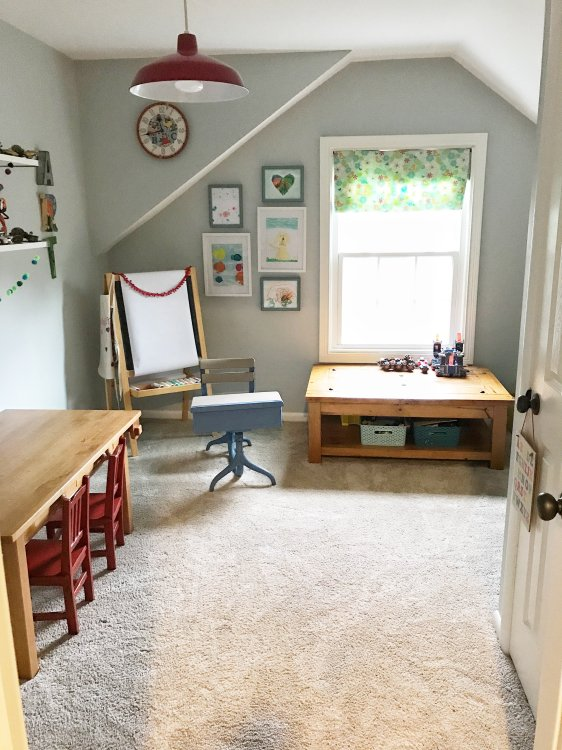 Colorful Kids Playroom Ideas