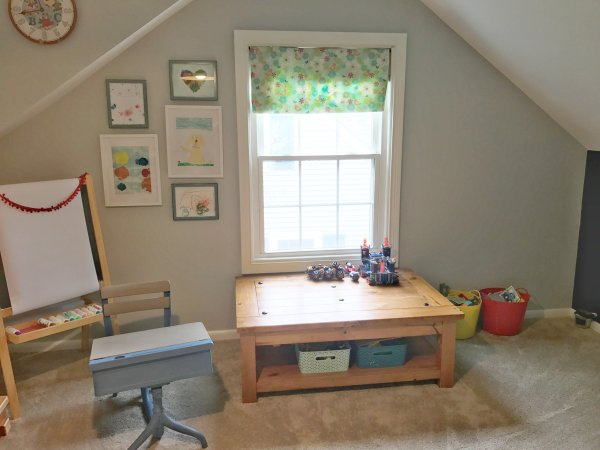 Kids Art Room Tour