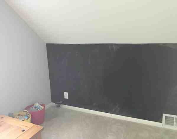 Chalkboard Wall for Kids Room