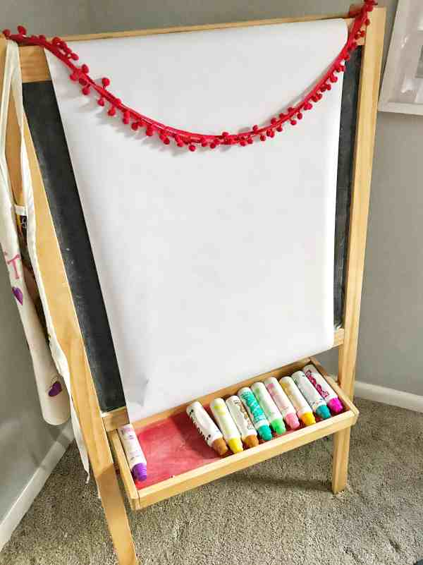 Creating a Kids Art Space