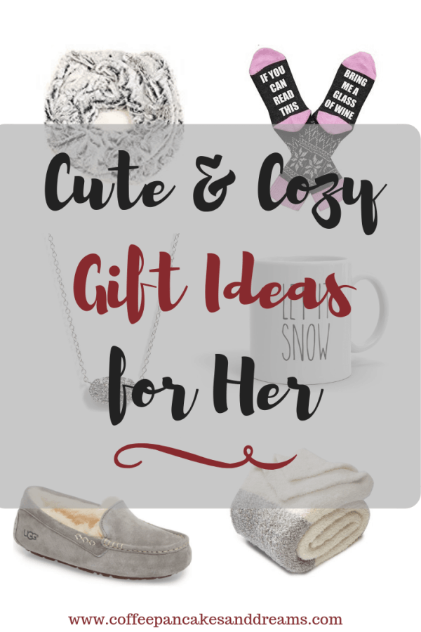 Cozy Gifts for Women #giftsforher #mom #wife #inexpensivegiftideas #christmas