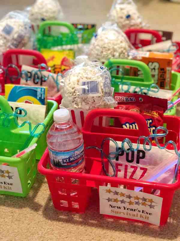 NYE Snack Baskets for Kids