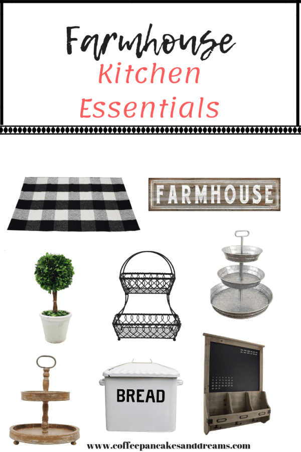 All the essentials to create a farmhouse kitchen that is cozy and functional #fixerupperstyle #farmhouse #kitchen #farmhousekitchen