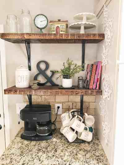 Farmhouse Favorites: Open Shelving