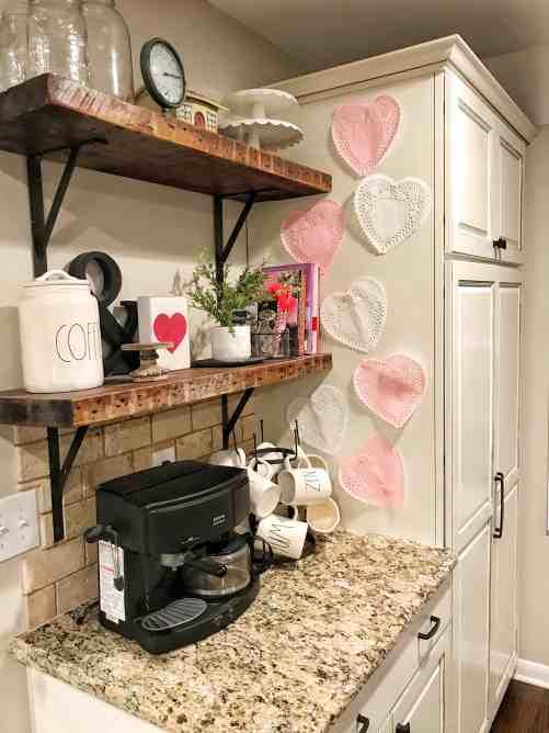 Valentine's Day Coffee Bar
