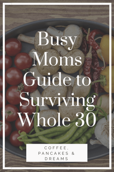 Mom's Guide to Whole 30
