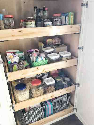 Pull Out Pantry Drawers | Coffee, Pancakes & Dreams