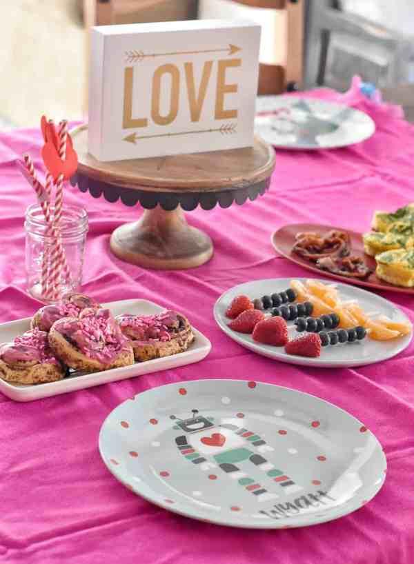 Family Valentine's Day Breakfast