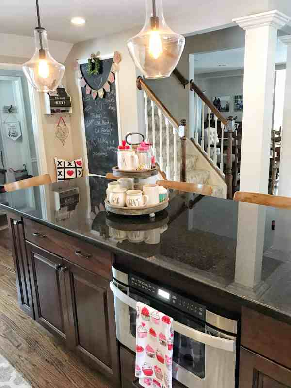 Valentine's Day Farmhouse Kitchen Decor