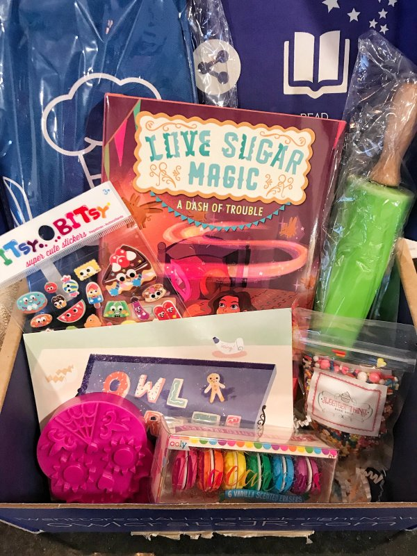 Gift Idea for Tweens; Book Subscription Box