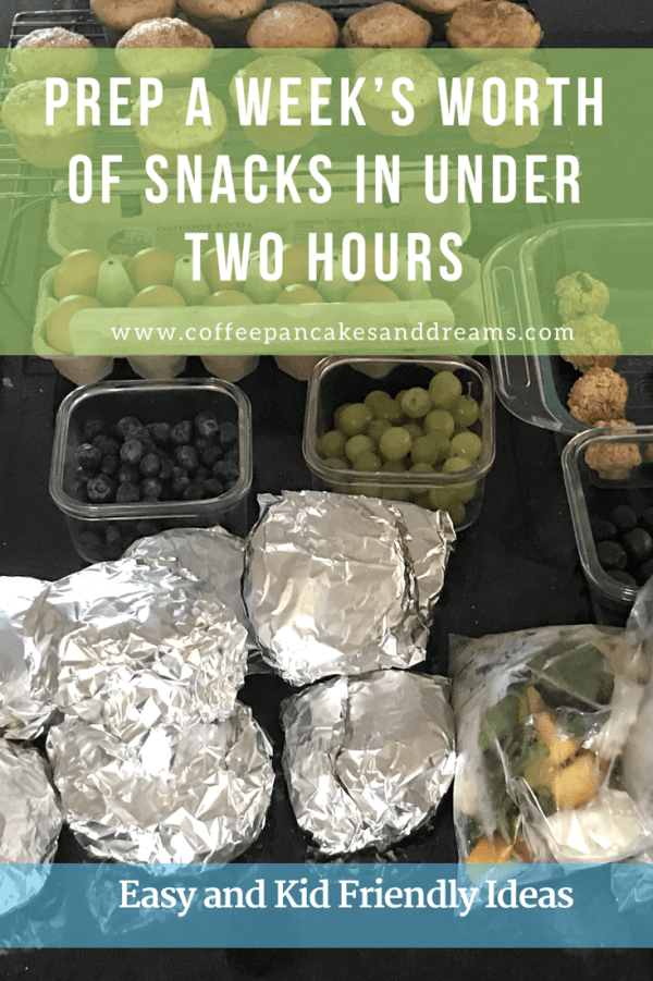 Make Ahead Snack Ideas for the Busy Family