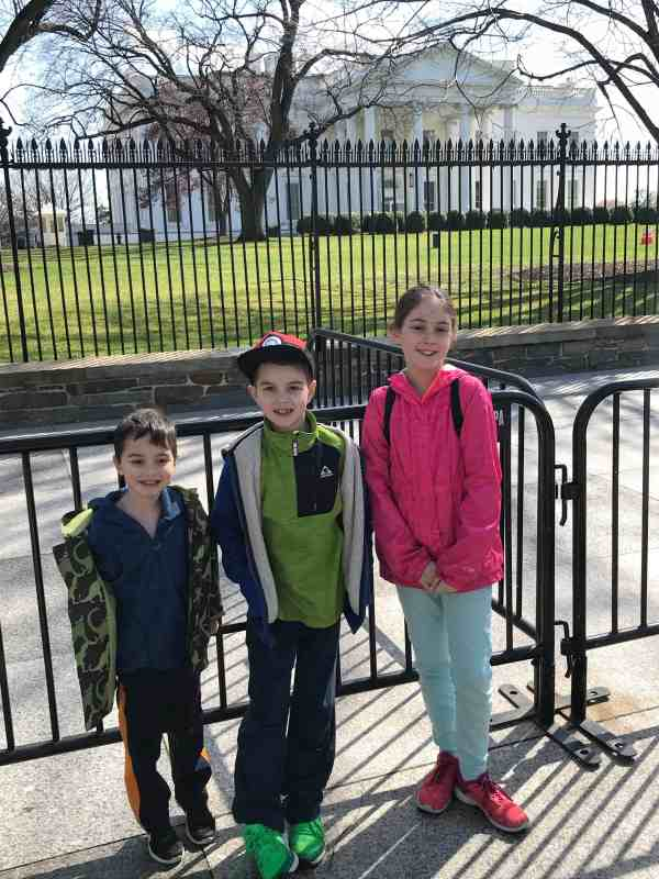 Taking Kids to DC