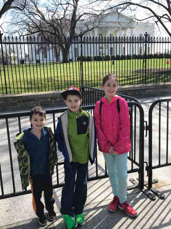 Taking Kids to DC