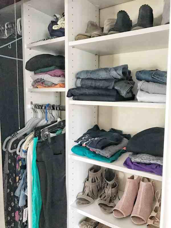 Organizing a Small Master Closet
