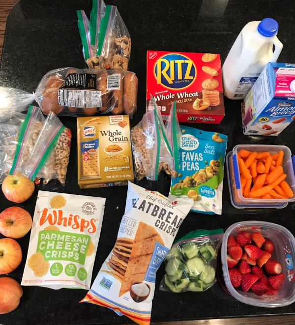 Healthy Snack Ideas for Road Trips
