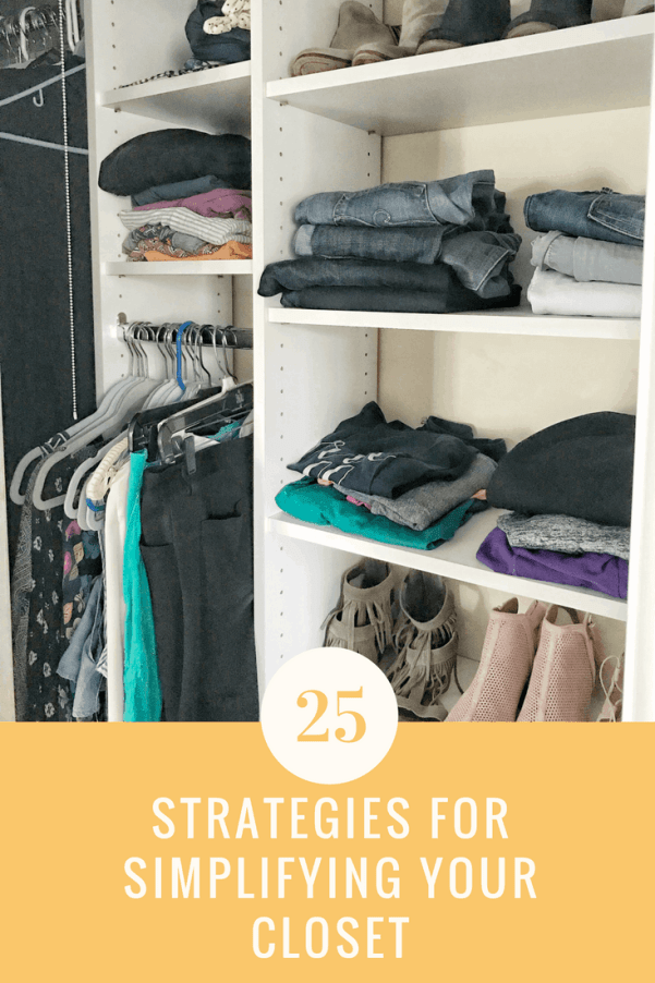 How to Simplify yet Maximize Your Closet