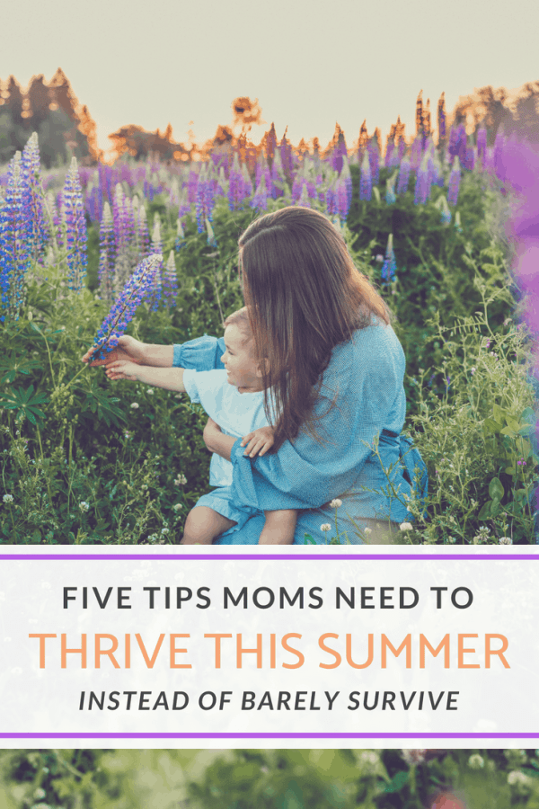 How to create a purposeful and fun summer with your kids while keeping your sanity #summerschedule #motherhood #kids