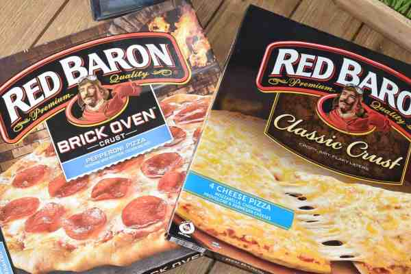 Red Baron Pizza for Easy Summer Dinners