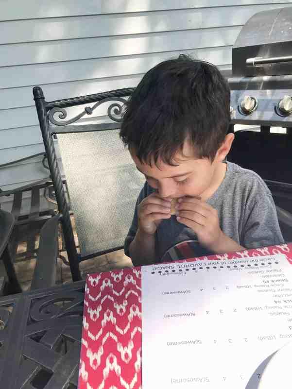 Oreo Taste Test Fun with Kids Free Downloadable Ballot #kids #cheap #activity