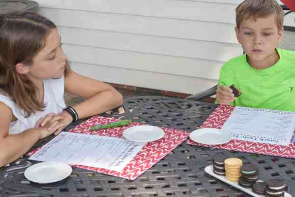 Taste Test 5 of your favorite snack and VOTE on your favorite #ideas #activities #kids