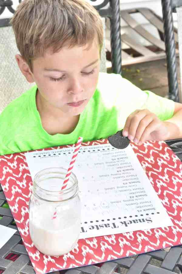 Cookie Taste Test with Kids #rainydayactivity #kids #food