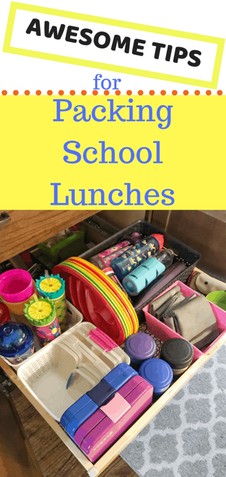Make school lunch prep simple and quick with these ideas #backtoschool #hacks #ideas