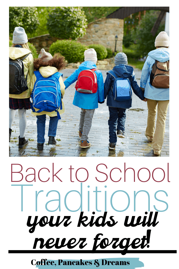 Back to school traditions for your family #1stdayofschool #schooldays #kids