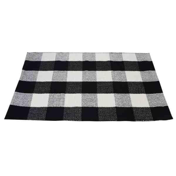 Inexpensive Buffalo Plaid Doormat #buffalocheck #falldecor #farmhousestyle