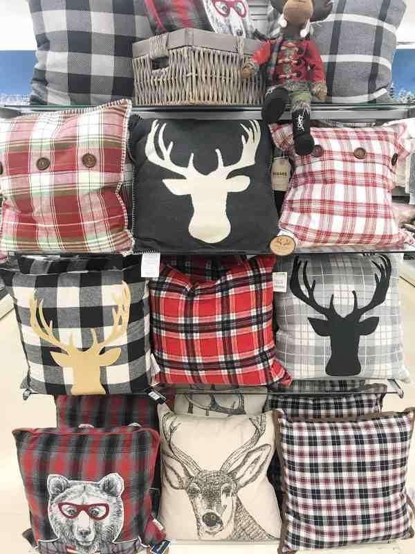 Holiday Pillows at Marshalls #plaid #inexpensive #holidaydecor #farmhouse