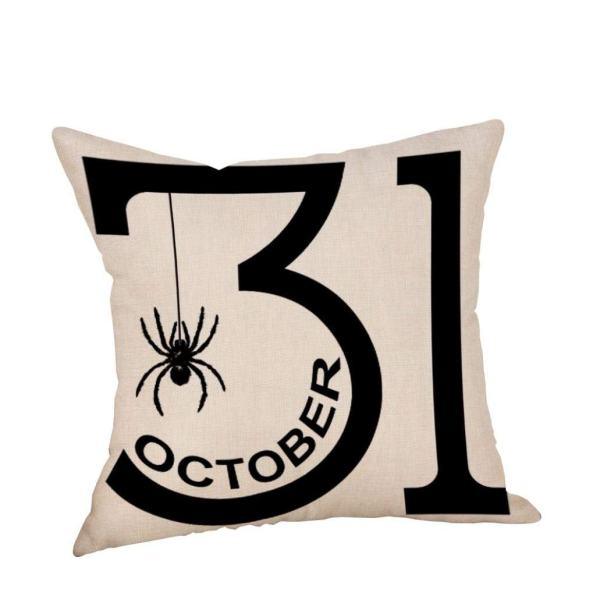 Inexpensive Halloween Pillow #halloweendecor #falldecor #halloween