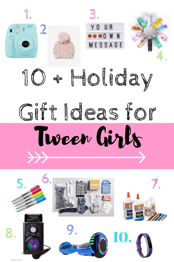 What to get a tween girl for Christmas #giftideas #girls #kids #teens