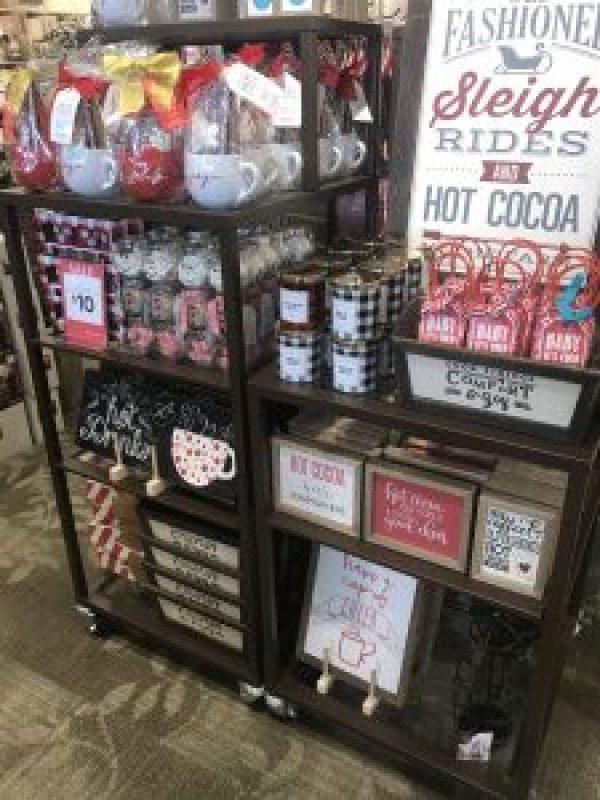 Hot Cocoa Bar Essentials #hotchocolate #hotchocolatestation #ideas