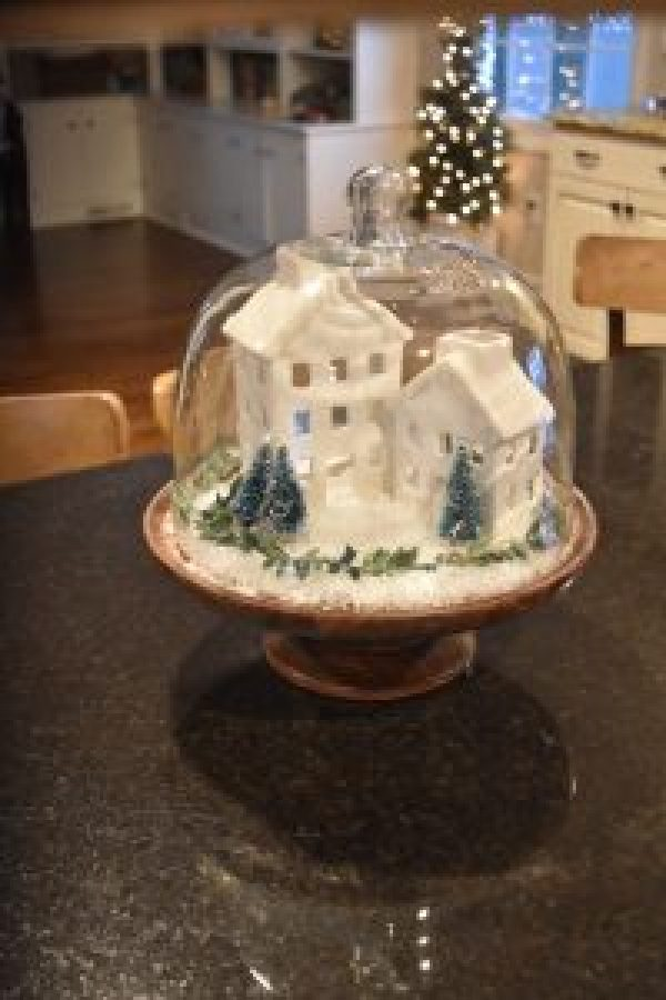 Christmas Farmhouse Decor Ideas #kitchen #shabbychic #countrycharm #diy