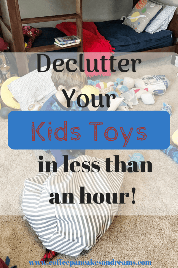 Quick Tips for Decluttering Toys #easy #organization #toyorganization #declutteringtoys