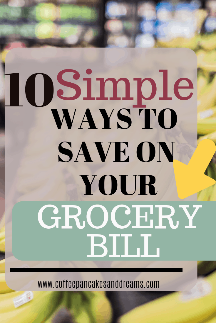how to save money on groceries without cutting coupons #family #budget #easy