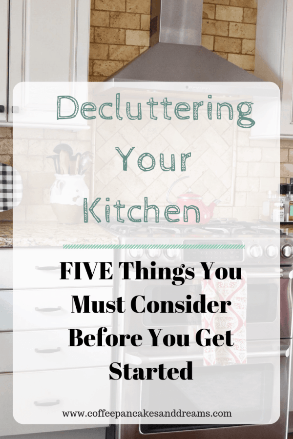 How to Declutter the Kitchen #organizationtips #organizationideas #declutter #kitchenorganization