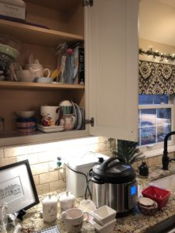 Decluttering Kitchen Cabinets
