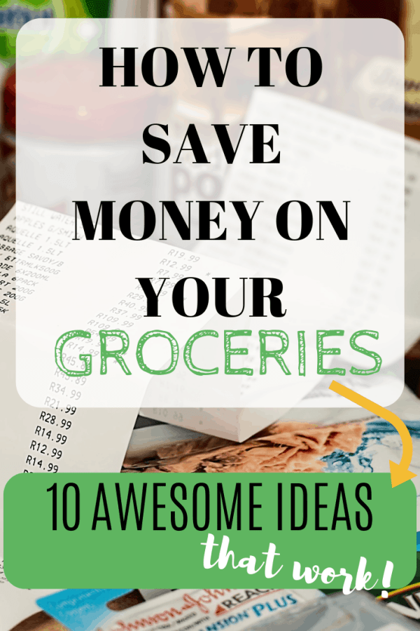 How to save money on groceries without cutting coupons #moneysavingtips #budget #groceryshopping
