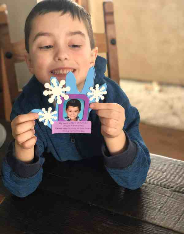 Fun winter activity with the Kids Night In Box Kids Night In Box Winter Review #affliliate #kidsactivities #subscriptionbox